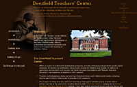 Deerfield Teachers' Center homepage